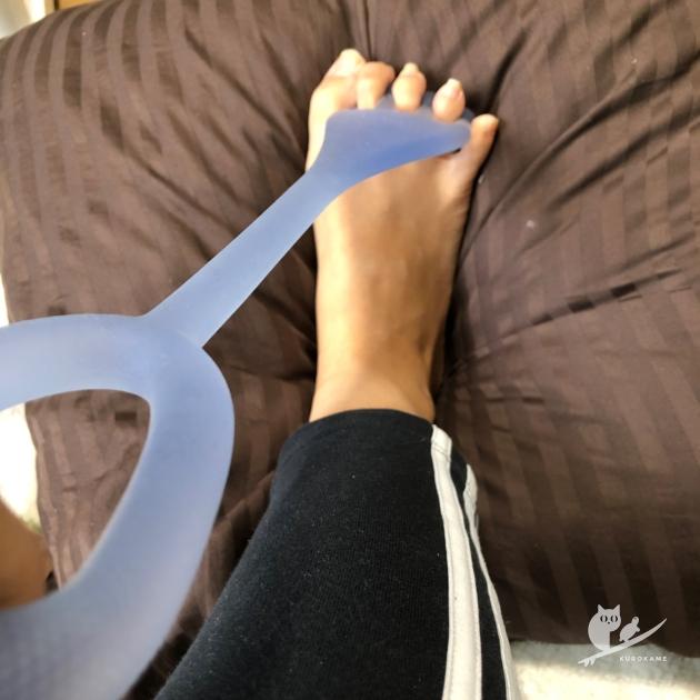 フロッグハンド的な足首トレーニング