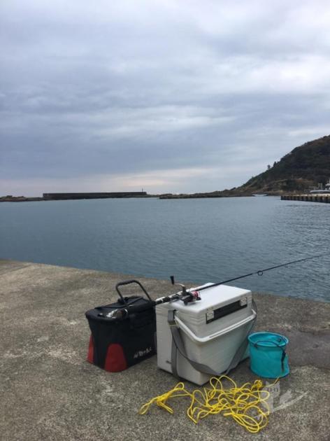 えーちゃん京丹後H漁港で釣り