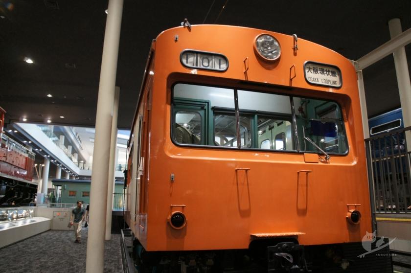 京都鉄道博物館の大阪環状線
