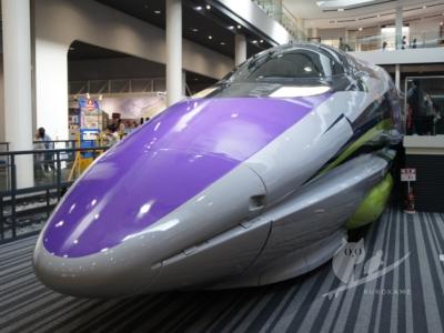 写真:エヴァ新幹線見に京都鉄道博物館行ってきた!