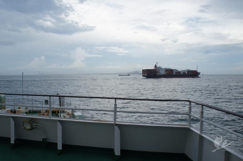 伊勢湾フェリーで伊勢から伊良湖へ