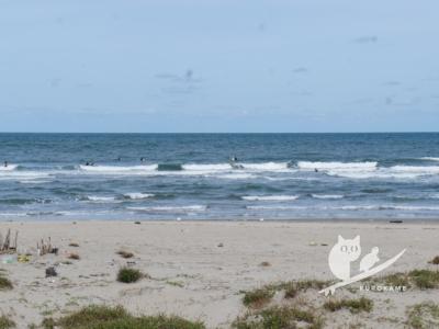 写真:10月20日 鳥取 変態女子、金縛りにビビりながら風波サーフィン