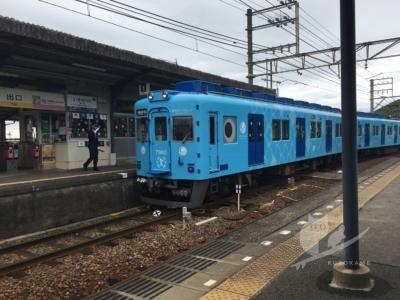 写真:4月某日 磯ノ浦 GOOD WAVEな電車サーフィンと青い鯛