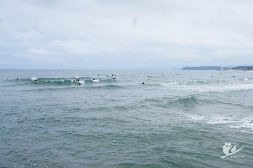 日本海某所サーフポイント