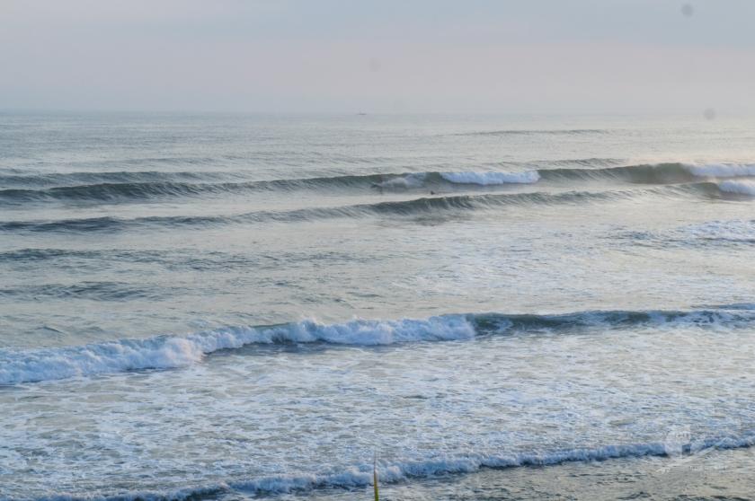鳥取某所の波