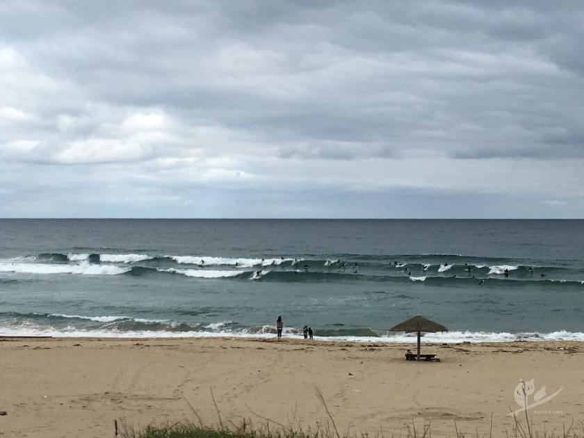 京丹後・Hサーフポイントの波
