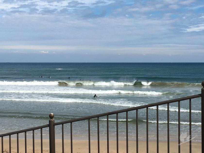 市後浜サーフポイントの波