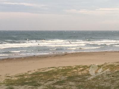 写真:6月28日 磯ノ浦 激オンショアの超チョッピー!規制前に海を満喫!
