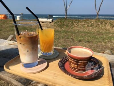 写真:11月5日 鳥取 割れへんのかーい!見せかけのうねりと海沿い燕珈琲