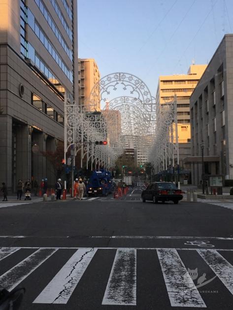 神戸ルミナリエの準備風景