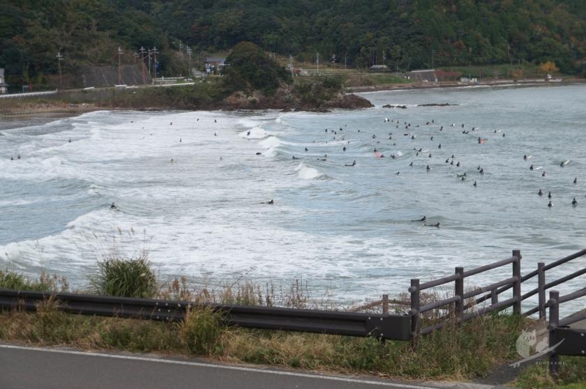 福井・難波江サーフポイントの波