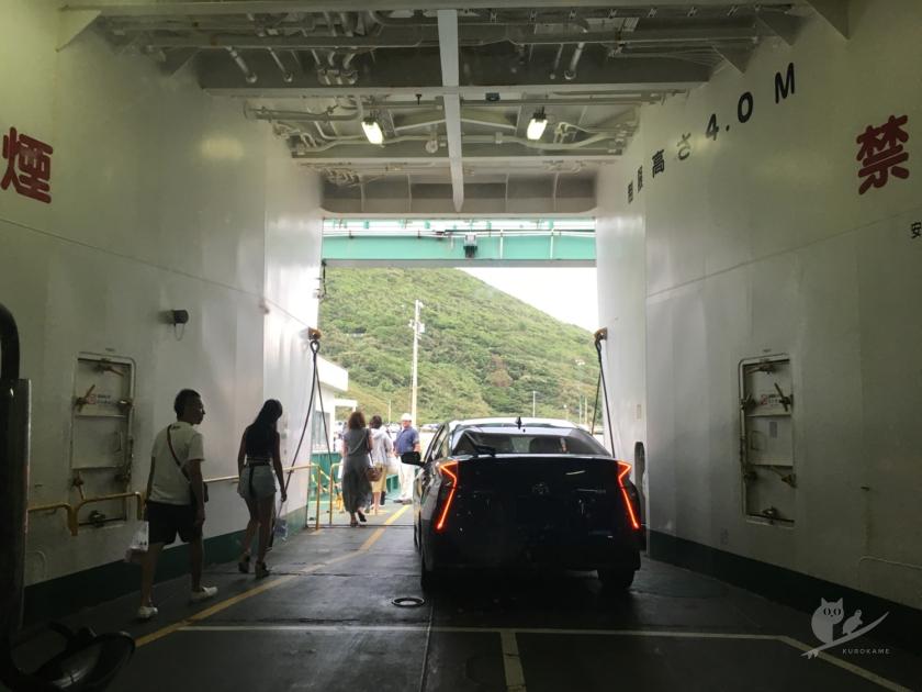 伊良湖フェリー降り場