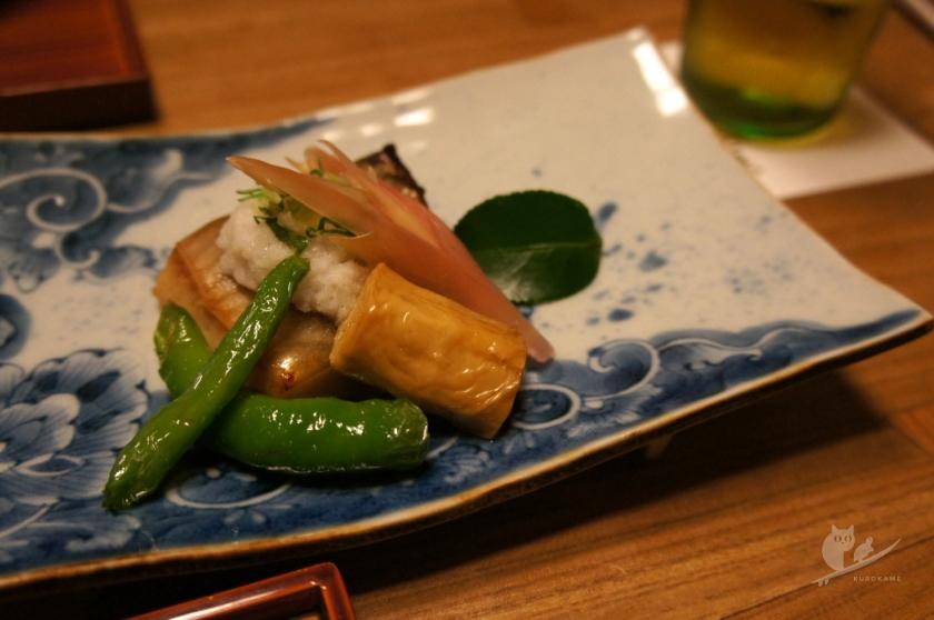 京都東山の花咲萬治郎の個室の京料理コース