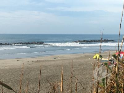 写真:9月2日 伊良湖 サイズアップで胸サイズのファンウェーブ
