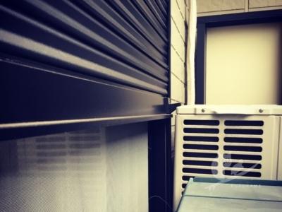 写真:猛烈な台風21号通過…くろかめ一家は無事です