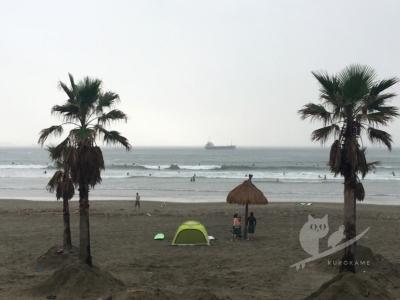 写真:9月15日 和歌山 磯ノ浦は小波からのサイズアップでダンパー化