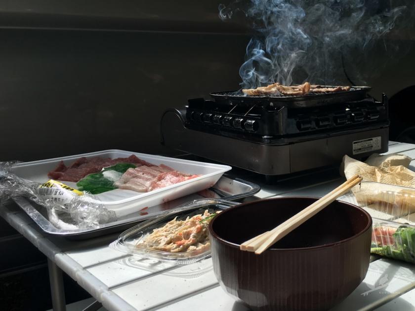 風まるで豚肉BBQ