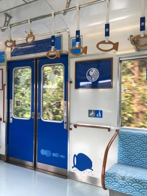 南海加太さかな線観光列車「めでたいでんしゃ」