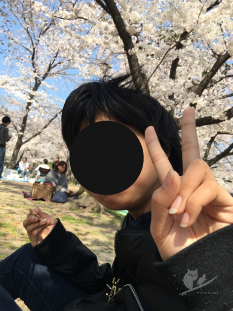 大阪・住吉公園でプチお花見