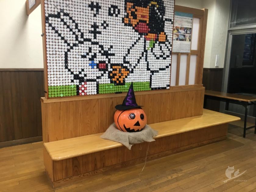 鳥取の道の駅・白兎のハロウィン