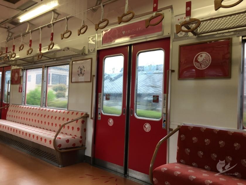 南海加太さかな線観光列車・めでたいでんしゃ