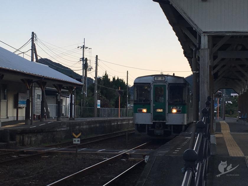 JR四国・牟岐線(阿波室戸シーサイドライン)日和佐駅