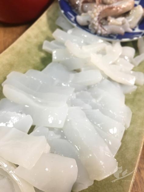 京都舞鶴・さかなや水嶋鮮魚店のあおりいか