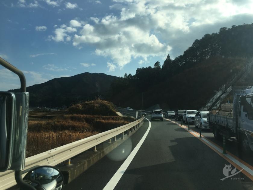 中村サーフトリップへ快晴の淡路島をドライブ