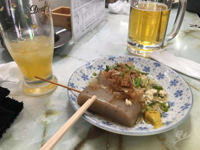 和歌山駅そばの立ち飲み屋・多田屋