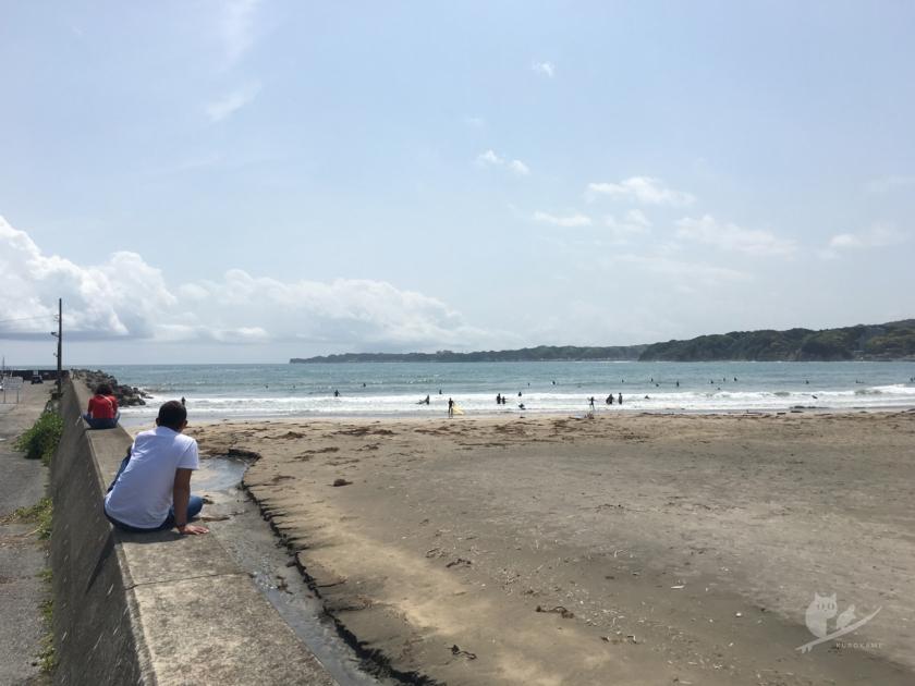 千葉・御宿岩和田サーフポイント