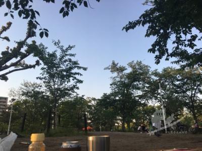 写真:ゴールデンウィークの後は住吉公園BBQと食処勇の串カツ