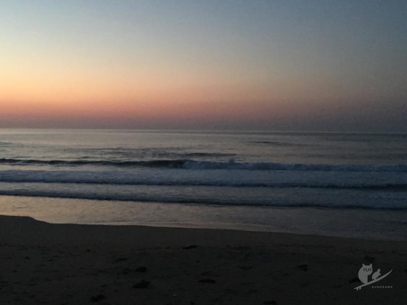 伊勢・市後浜の日の出