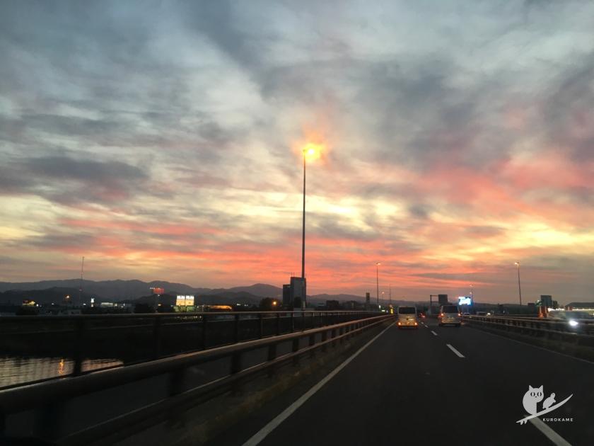 鳥取の夕陽