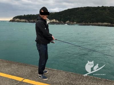 写真:12月1日 中村 ウニポイントからの鬼オンショアとカーチェイスと爆風釣り