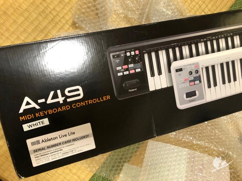 Roland MIDIキーボードコントローラー A-49
