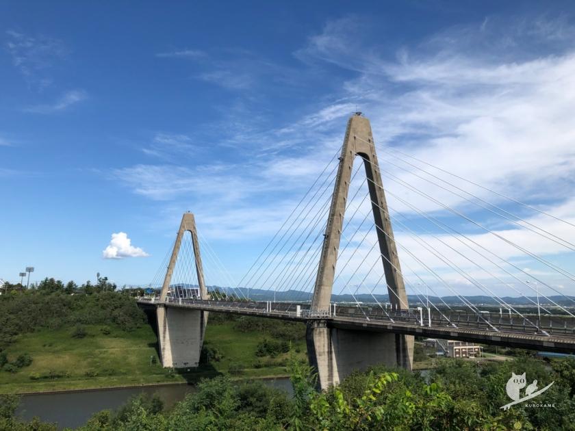 石川・道の駅 内灘サンセットパークからの風景