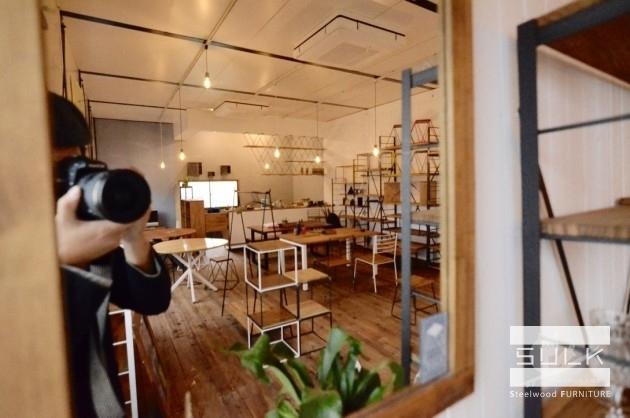 堺のアイアン家具SULKショールーム