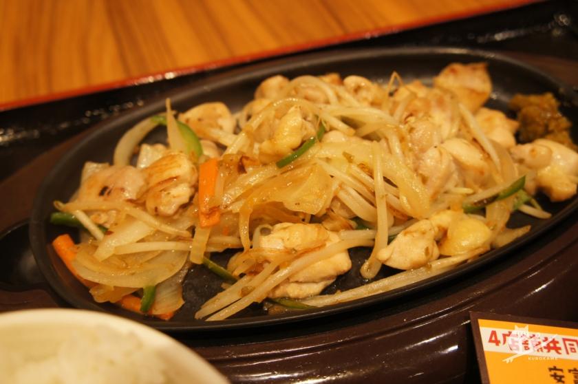 リニューアルした中国道安富PAの鶏ももゆず胡椒焼き